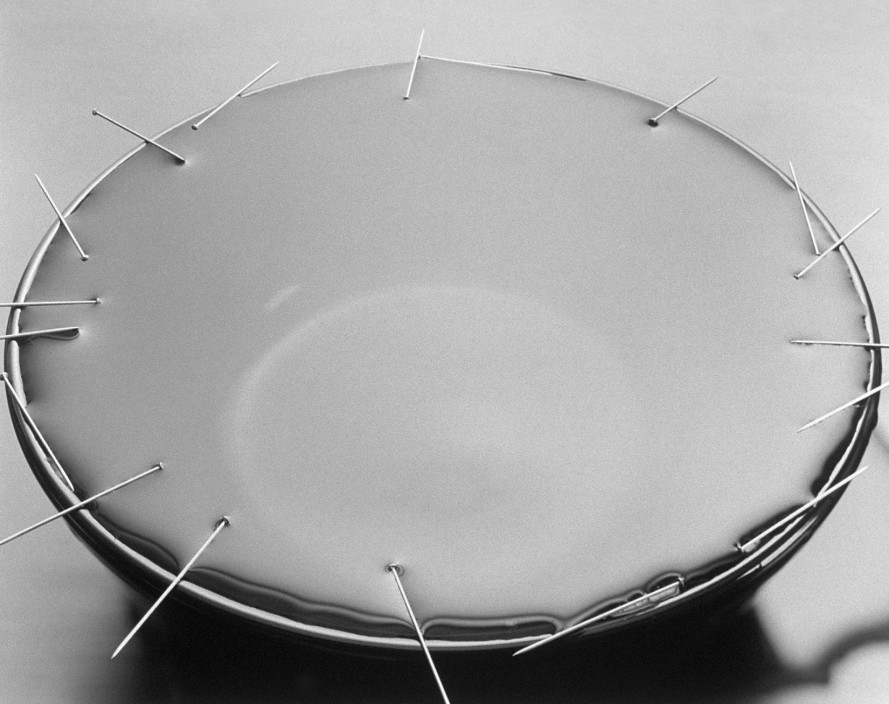 David Goldes. Water Balance, 1994. From the series Science. Gelatin Silver Print.
