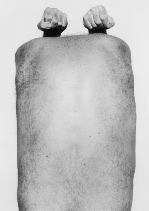 John Coplans, Self-Portrait (Back with Arms Above), 1984
