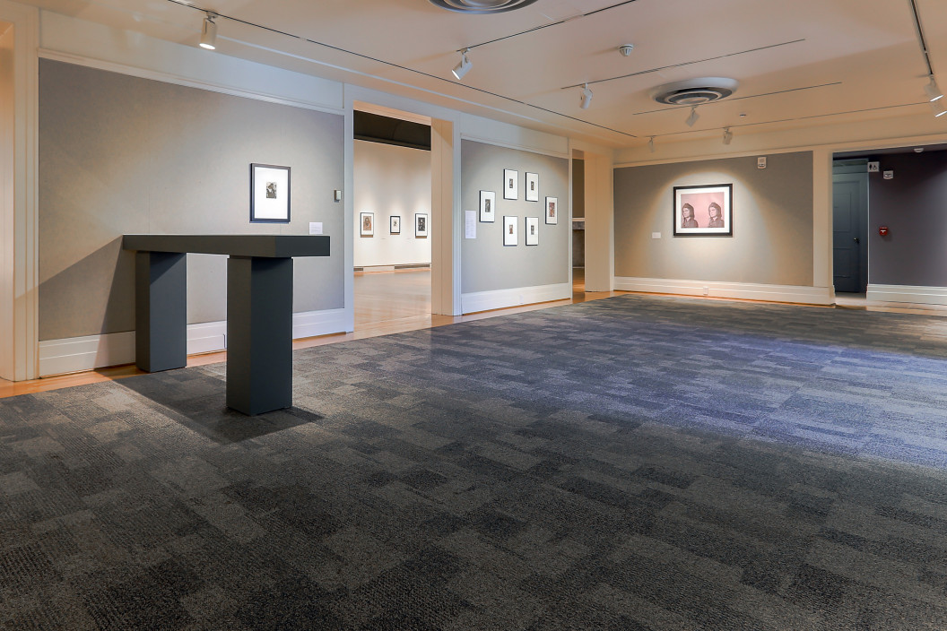 Installation View of About Face