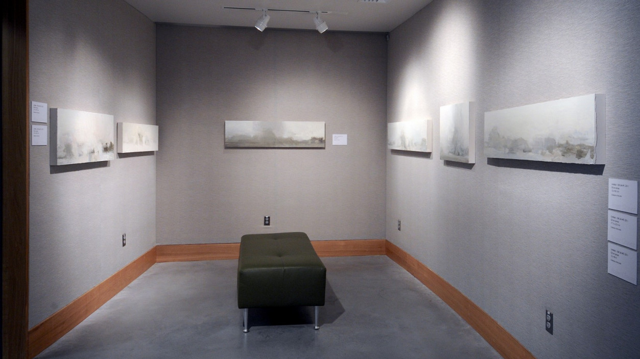 Installation view.  Recent Works by Roger Chavez.  Interstitial Spaces: Void and Object.  October 6, 2013 - January 13, 2013.