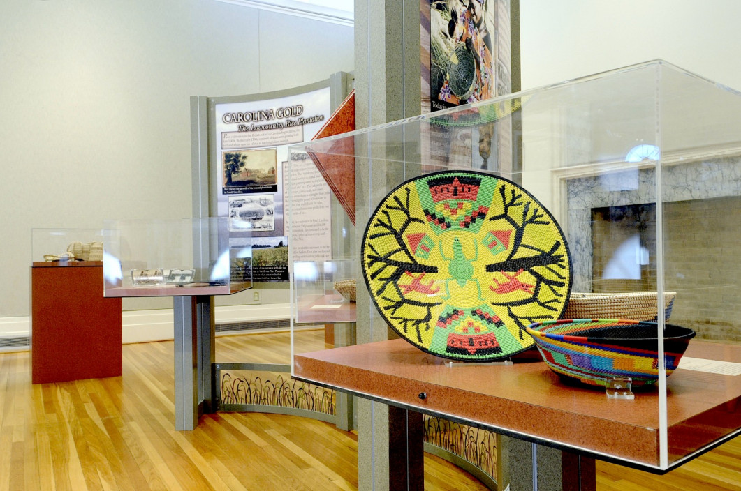 Installation view.  Grass Roots: African Origins of an American Art.  January 28, 2013 – April 7, 2013