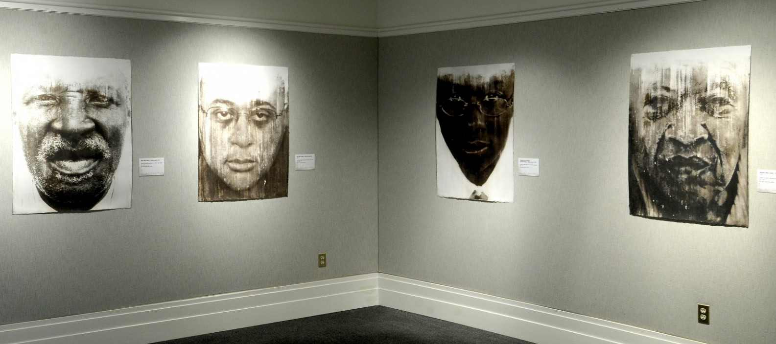 Installation view.  Dust Shaped Hearts: Photographs by Donald E. Camp.  January 18, 2011 – April 17, 2011.