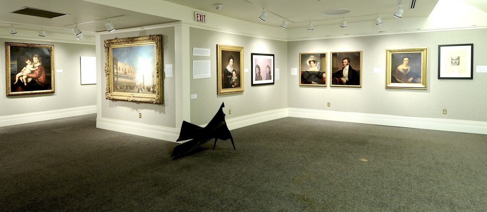 Installation view. Holding the Eyes and Soul: Object and Viewer in 2012.  February 15, 2012 – April 1, 2012.