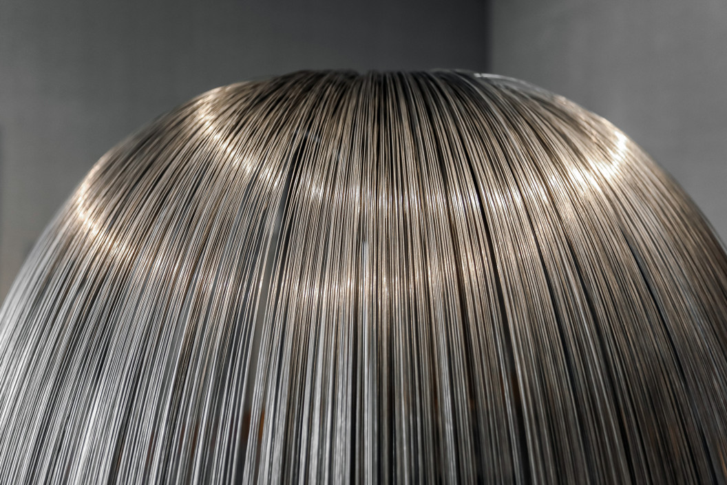 Harry Bertoia, Weeping Willow, c. 1960sSteel, 52 inchesPurchased with funds donated by Muriel and Philip Berman© 2018 Estate of Harry Bertoia / Artists Rights Society (ARS), New York.