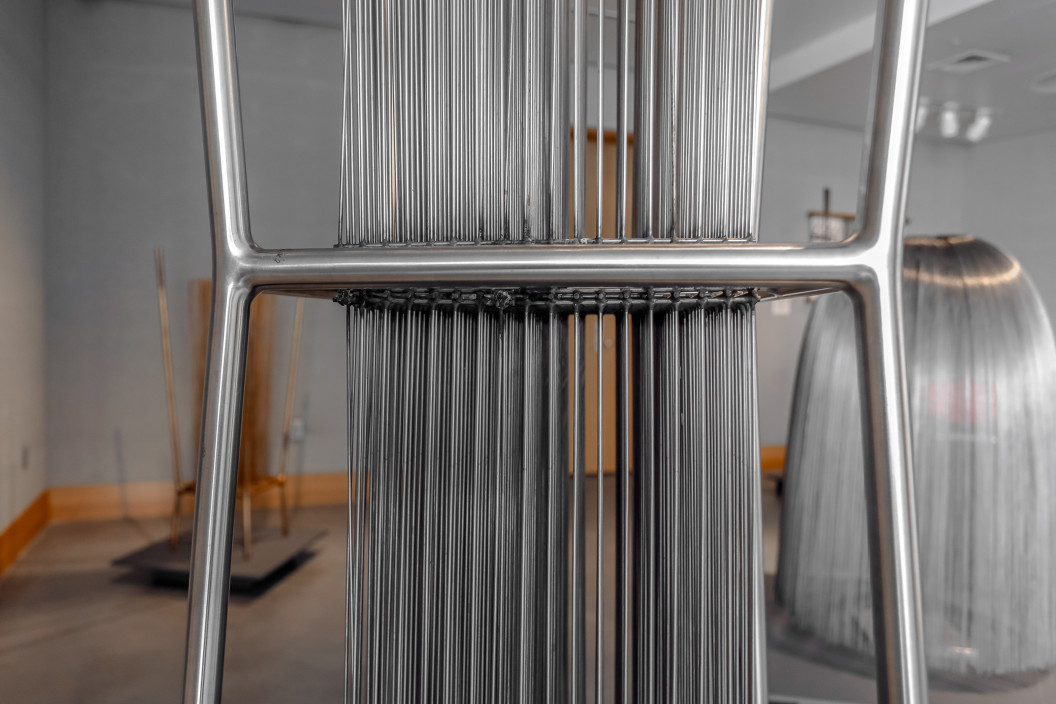 Harry Bertoia, Abstract Sculpture, c. 1960sStainless steel, 83.5 x 19 x 19 inchesPurchased with funds donated by Muriel and Philip Berman