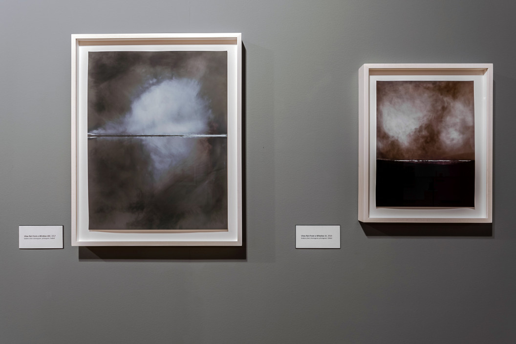 Installation view of Chuck Kelton: Folds