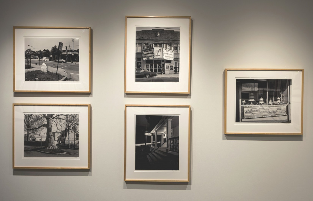 George Tice: Seldom Seen + Big Platinums, June 4 – September 6, 2015. Installation view.
