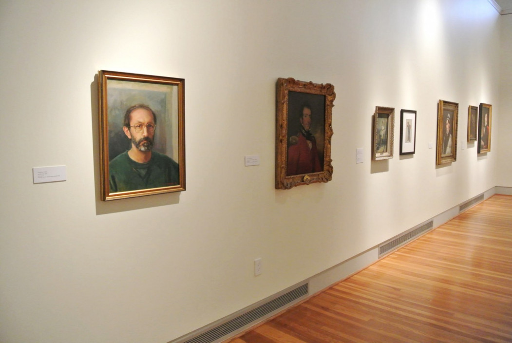 77 Portraits, May 27 – September 21, 2104. Installation view.