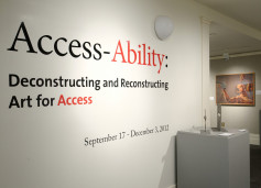 Access-Ability: Deconstructing and Reconstructing Art for Access