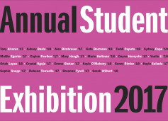 Annual Student Exhibition 2017