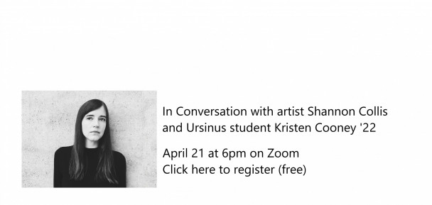 In conversation with artists Shannon Collis and Ursinus student Kristen Cooney