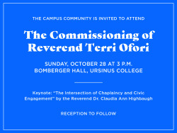 commissioning of Rev. Ofori