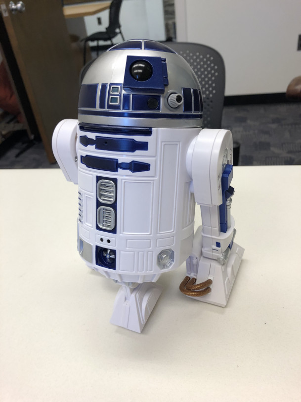 Star Wars character R2-D2