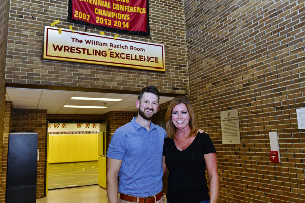 Bill Racich Wrestling Room Dedication.