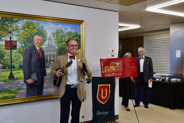 Periodic Table of Elements Reception at Homecoming & Family Weekend 2019.