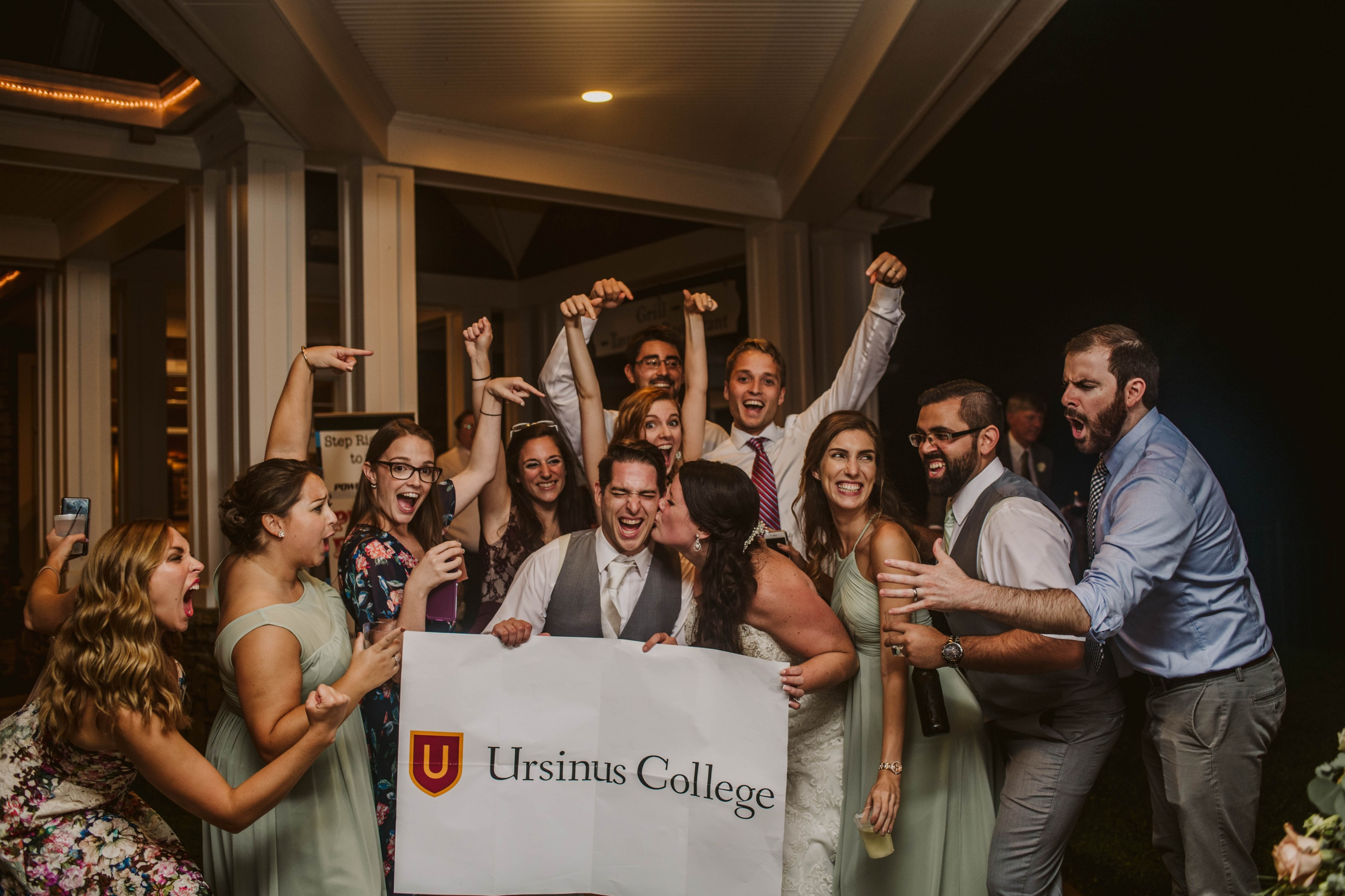 Jillian B. Alacci '13 and Adam McGonigle '13 were married on September 15, 2018.