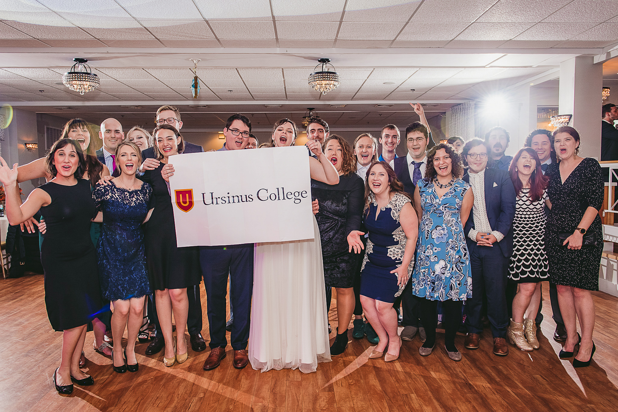 Jessica McIlhenny '11 and Grey Johnson '09 were married November 2, 2018.