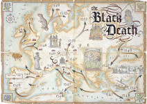 Black Death Bubonic Plague Map
