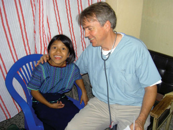 David Schaebler '84 has been part of medical mission teams delivering healthcare in Guatemala.