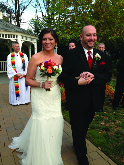 Diane Elia '02 and Brian Dydak were married Oct. 29, 2016.
