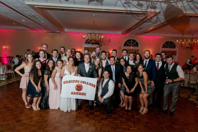 Danielle Michielli '12 and Dan Fryer '11 were married June 9, 2018.