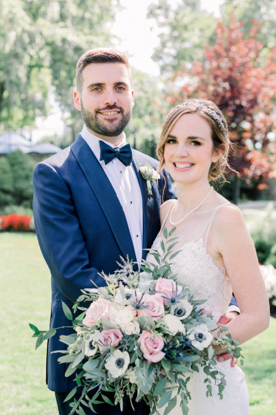 Kaitlyn Cherry '13 and Philip Giannini '11 were married on August 24, 2019.