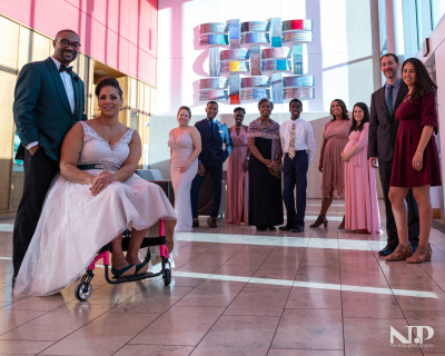 Chanelle Houston '06 married Brennan Wimbish on November 1, 2019.