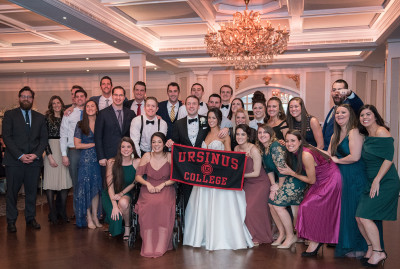 Angela Lenzo '12 and Matthew Donahue '13 were married February 8, 2020.