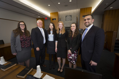 Three Ursinus College graduates work as assistantdistrict attorneys for Matt Weintraub: Jessica B...