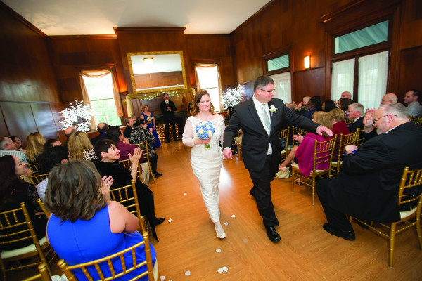 Matt Miller '98 and Shannon Hendrickson were married March 19, 2016. The wedding took place in Catonsville, Maryland.