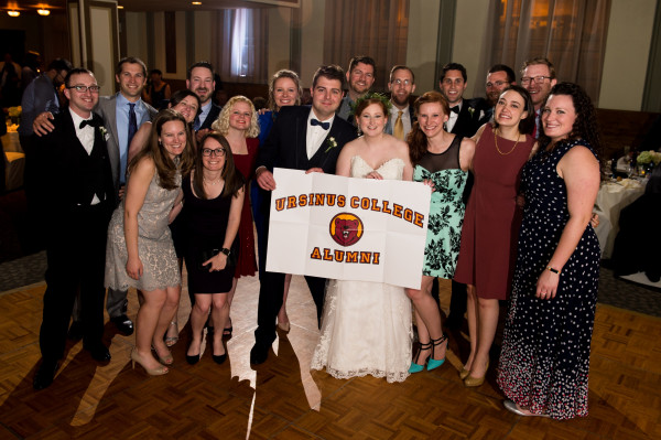 William Freeman '10 and Elise Sassone '10 were married on April 28, 2018.