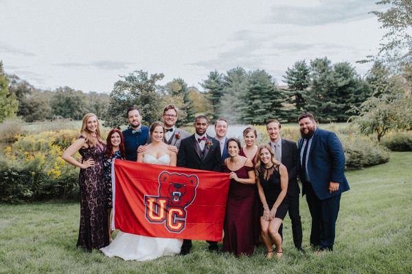 James Noebels '12 and Megan Teller were married September 22, 2018.