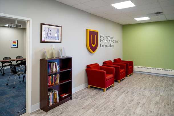 The new office space for the Institute for Inclusion and Equity at Ursinus College