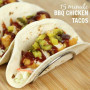 15 minute BBQ Chicken Tacos