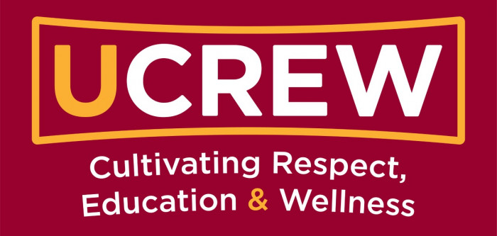 UCrew Logo - cultivating respect, education, and wellness