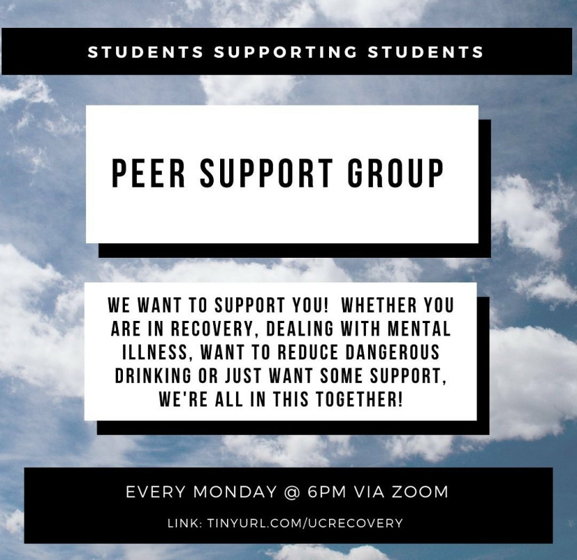 Peer Support Group tinyurl.com/UCrecovery