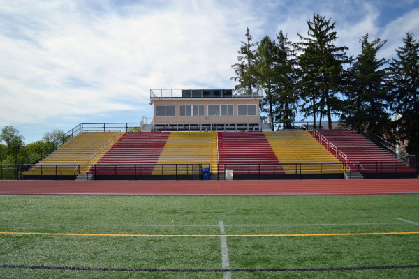 The turf stadium at Ursinus College