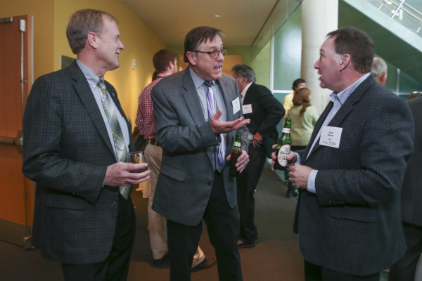 Fifth annual Brownback-Anders Pre-Health Society Reception, Dinner and Panel Discussion