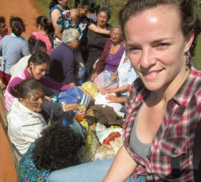 Lauralee Lightwood-Mater ('11) served as an Agricultural Volunteer in Paraguay 2011-2013.