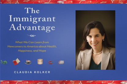 The 2019 Melrose Fellows read and discussed Claudia Kolker's 2013 book, The Immigrant Advanta...