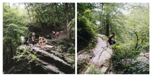 Photo of Sarah Kaufman, Devil's Pool Diptych #1