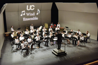 Distant Shot of Wind Ensemble
