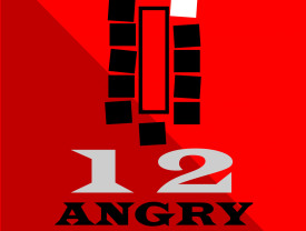 Logo for the performance of 12 Angry Jurors