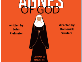 Poster for the 'Agnes of God' performance
