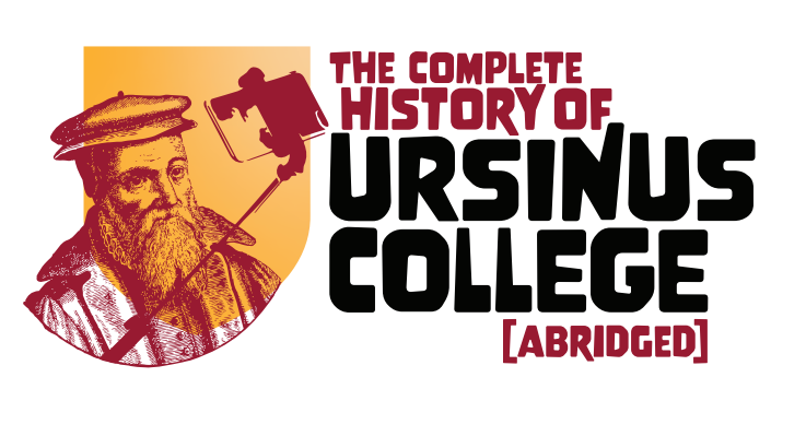 Logo for The Complete History of Ursinus College (Abridged)