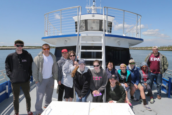 Ursinus College, boat trip Wildwood Crest, NJ. Wednesday, May 19, 2016. ( Falk Photography LLC, Steven M. Falk / Photographer )