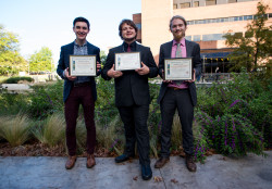 Award winners from 20th Annual UMBC Undergrad Research Symposium