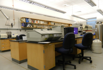 The Instrumental Laboratory located in Pfahler 316