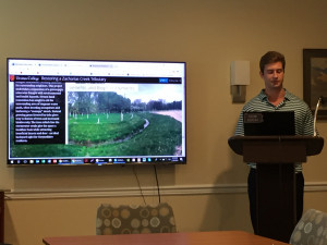 Urbanization & Environment students present case study research on stormwater management effo...