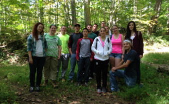 Forests and People class photo.